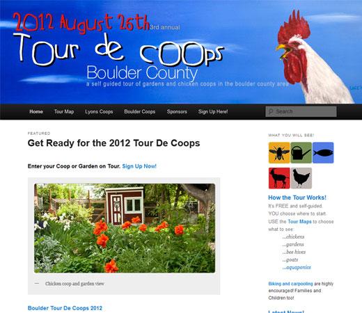 Tour De Coops Boulder County